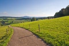 Typische Landschaft in Deutschland Lizenzfreie Stockfotos
