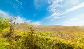Typische Landschaft in Toskana Lizenzfreie Stockfotos