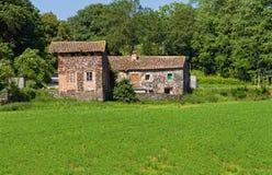 Typische landwirtschaftliche Landschaft des katalanisches in Spanien Stockfoto