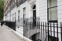Typische London-Straße Stockbild
