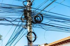 Typische mening in leon Nicaragua stock foto
