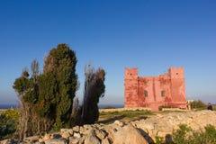 Typische militair watchtower Royalty-vrije Stock Foto