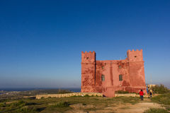 Typische militair watchtower Stock Afbeeldingen