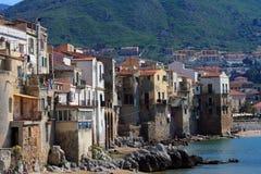 Typische Mittelmeerhäuser Lizenzfreie Stockbilder