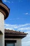 Typische Nahaufnahme eines südwestlichen Art-Hauses Lizenzfreies Stockbild