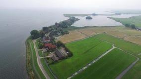 Typische Nederlandse landschappen stock video