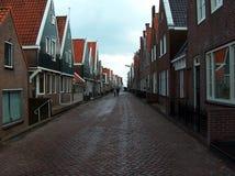 Typische Nederlandse straat Stock Foto