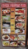 Typische peruanische Nahrung Stockfotos