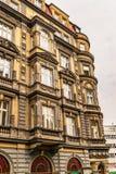 Typische Prag-Architektur stockbilder