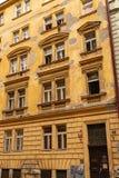 Typische Prag-Architektur lizenzfreies stockfoto