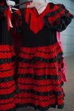 Typische spanische Kleider für Frau lizenzfreie stockfotos
