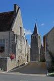 Typische Straßen-Ansicht, Loire Valley, Frankreich Stockbilder