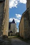 Typische Straßen-Ansicht, Loire Valley, Frankreich Lizenzfreies Stockfoto