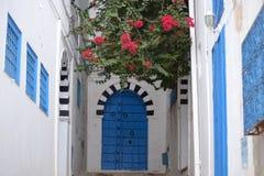 Typische Tür Stockfoto