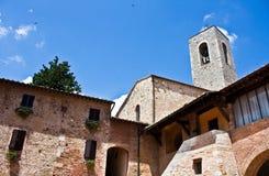 Typische Toscaanse architectuur Stock Afbeelding