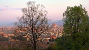 Typische toskanische Landschaft stock video