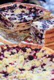 Typische Tsjechische frgal genoemd pastei stock afbeeldingen