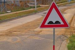 Typische Tsjechische weg Stock Afbeelding