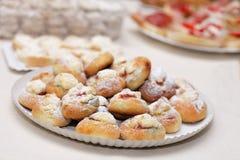 Typische Tsjechische zoete cakes Royalty-vrije Stock Foto