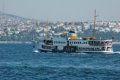 Typische veerboot Royalty-vrije Stock Afbeeldingen
