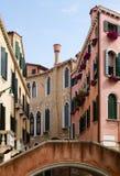 Typische Venedig-Architektur. Stockfotografie