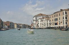 Typische venetianische Szene Lizenzfreie Stockfotografie