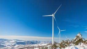 Typische Windmühle oder Aerogenerator Lizenzfreies Stockbild