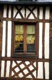 Typische Witwe in Normandie Lizenzfreie Stockfotos