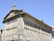 Typischer Galizien-Getreidespeicher Stockfoto