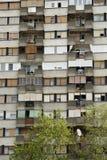 Typischer sozialistischer Block in Serbien Lizenzfreies Stockfoto