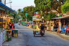 Typischer Tag in Koh Chang Lizenzfreies Stockbild