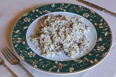 Typischer Teller von Mantua, Italien Stockbild