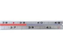 Typischer Thermometer Stockfoto