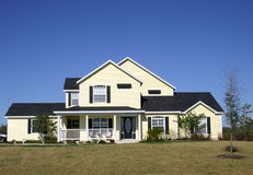 Typisches amerikanisches Haus Lizenzfreies Stockbild