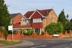 Typisches englisches Haus Stockfotos