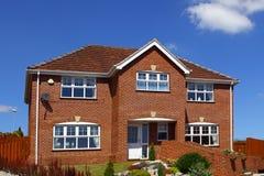Typisches englisches Haus Lizenzfreie Stockfotografie