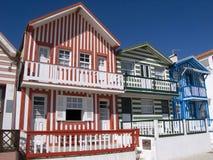 Typisches Fischerhaus in Lattich lizenzfreie stockfotos