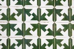 Typisches Fliesenmuster des Portugiesen lizenzfreie stockfotos