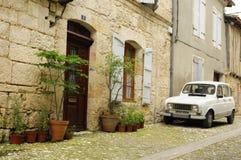 Typisches französisches Auto lizenzfreie stockfotos