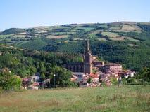 Typisches französisches Dorf Stockfotos