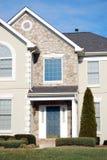 Typisches Haus Stockbild