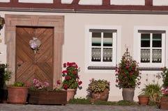 Typisches Haus des Deutschen Stockbild
