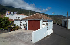 Typisches Haus im La Palma Lizenzfreie Stockbilder