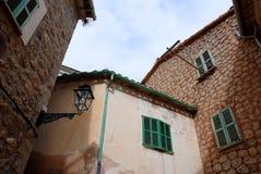 Typisches Haus in Majorca Stockbild
