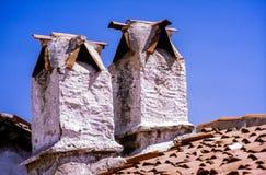 Typisches Haus in Mugla, die Türkei Stockbilder