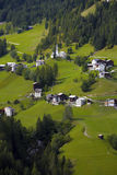 Typisches italienisches Dorf Stockbild