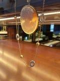 Typisches Juwel colled das cammeo, das von einem Goldschmied in Florenz geschaffen wurde stockbilder
