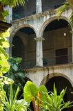Typisches kubanisches Gebäude stockfotos