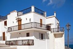 Typisches Mittelmeerhaus Stockfotografie