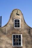 Typisches niederländisches Haus lizenzfreie stockfotografie